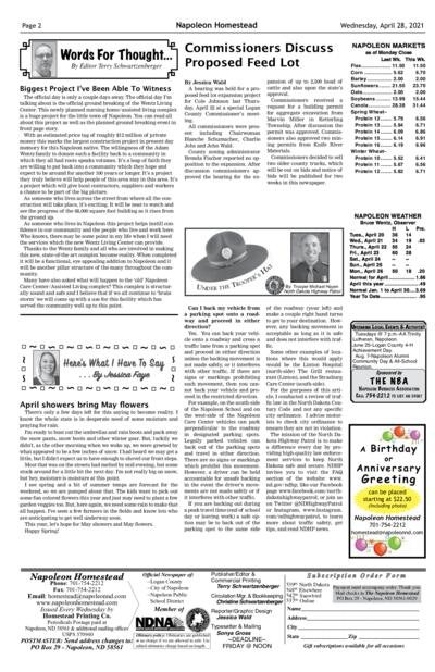 Issue content page